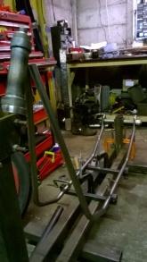 Ducati hardtail frame 1