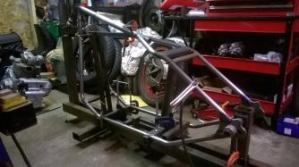 Ducati hardtail frame 4
