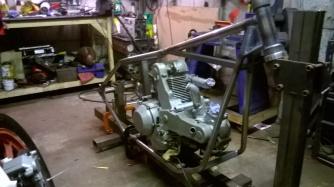 Ducati hardtail frame 6