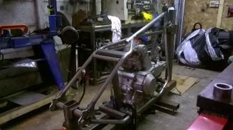 Ducati hardtail frame 7