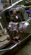 Ducati chop rear engine mount 03