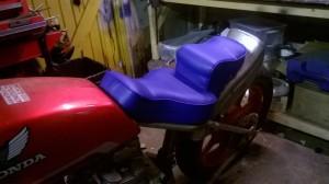 Chopper seat